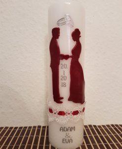Hochzeit Stehend rot 4